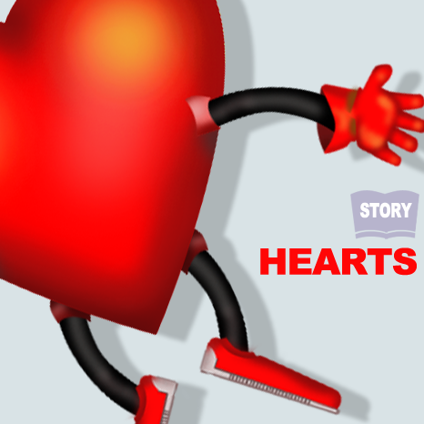 Hearts online storybook